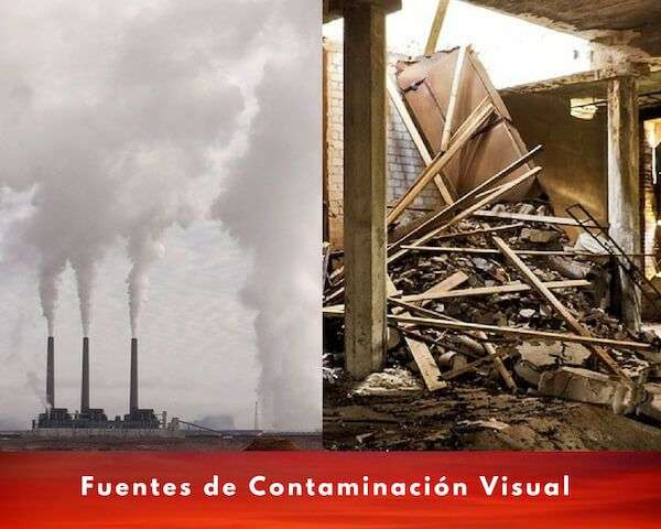 fuentes contaminacion visual